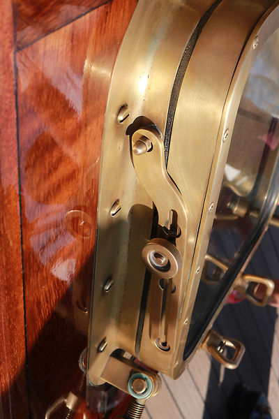 Hatch Tall Ships Wood Brass Close-up Polished Wood Sailing Sea Tall Ship Details Windows