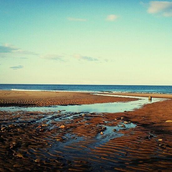Cambois Beach Strand Zee zomer engeland england uk vacation