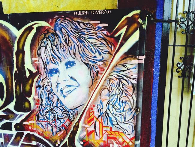 Day 28; The late great Jennirivera AdventuresinKtown Streetart