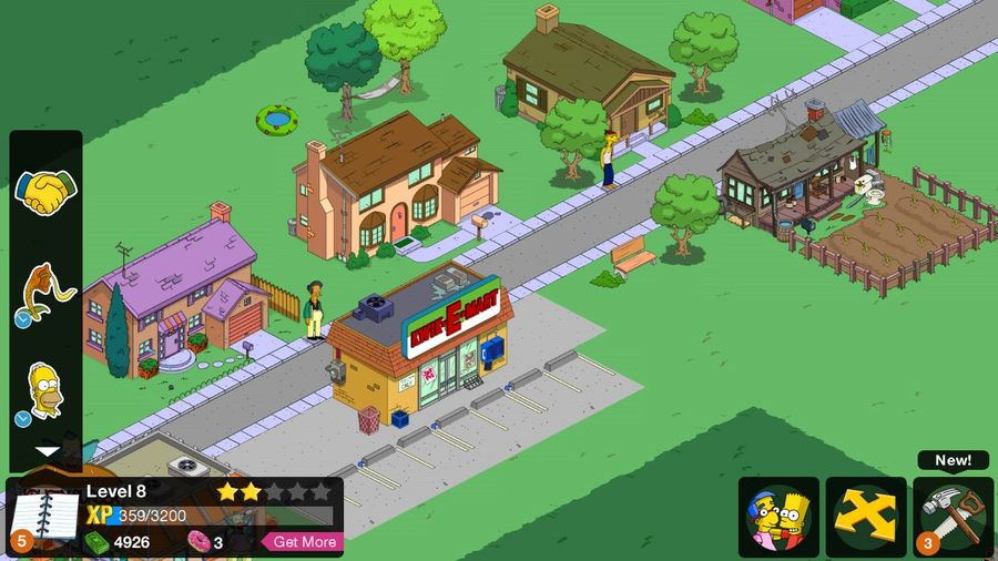 SIMPSONS IS MAGIC. TAPPED OUT