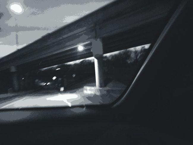 Black & White Journey Filmnoire Cartoonish Sterilityofcitylife Nighttraveling No People Light And Shadow