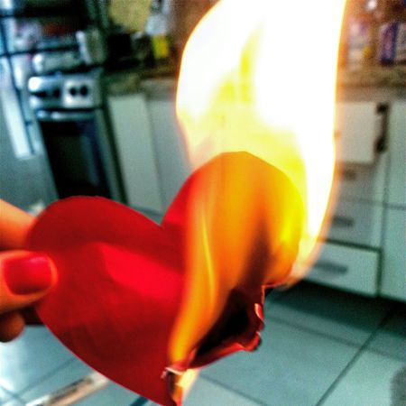 Buuuuuurn!!! Heart Fire Love Burning