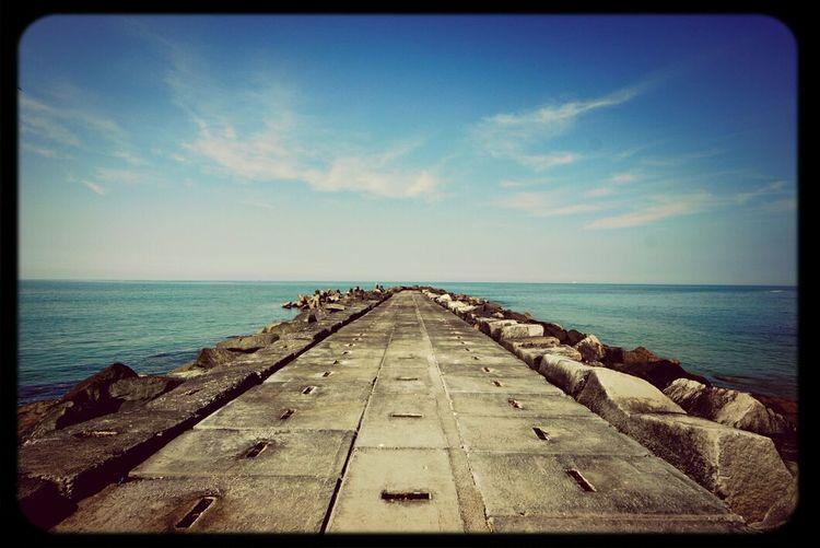 Weite Meer Sonne Strand