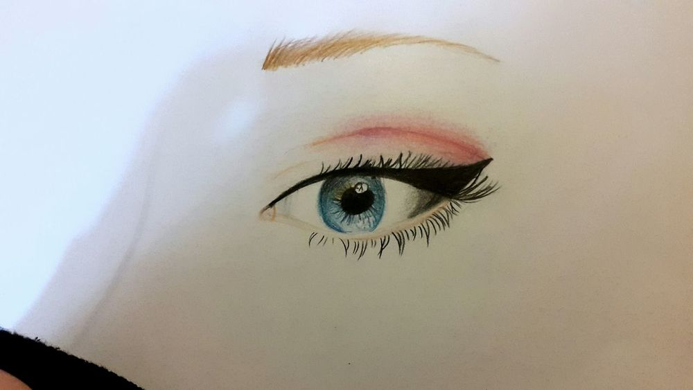 Drawing Art Eyes Byme