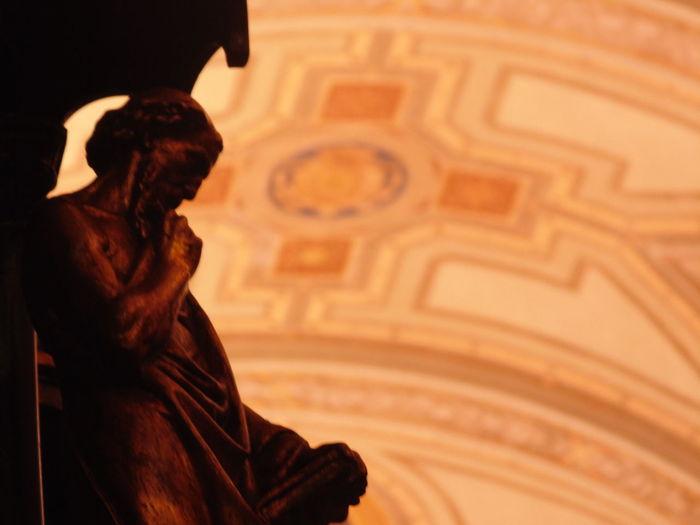 Church Sacred Statue
