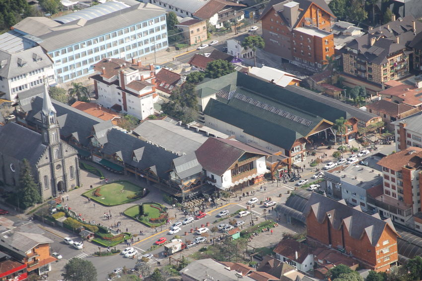 Aerial Photography Aerial Shot Aerial View Aerialview Architecture Built Structure Centro City Cityscape Crowded Day Development Gramado Gramado Gramado, RS Gramado-RS Brasil Perspective