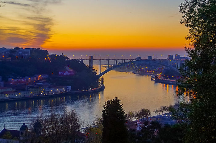 Sunset in Porto Turistic Places Sunset Reflection Water Sky Travel Destinations Multi Colored Sea No People Tree Outdoors Vacations Scenics Horizon Over Water Beauty In Nature Nature Nautical Vessel Architecture City Day Porto Portugal 🇵🇹 River Landscape Viewpoint EyeEmNewHere
