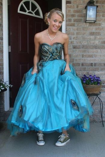 My Fav Prom Pic. Love My Shoes!!!!
