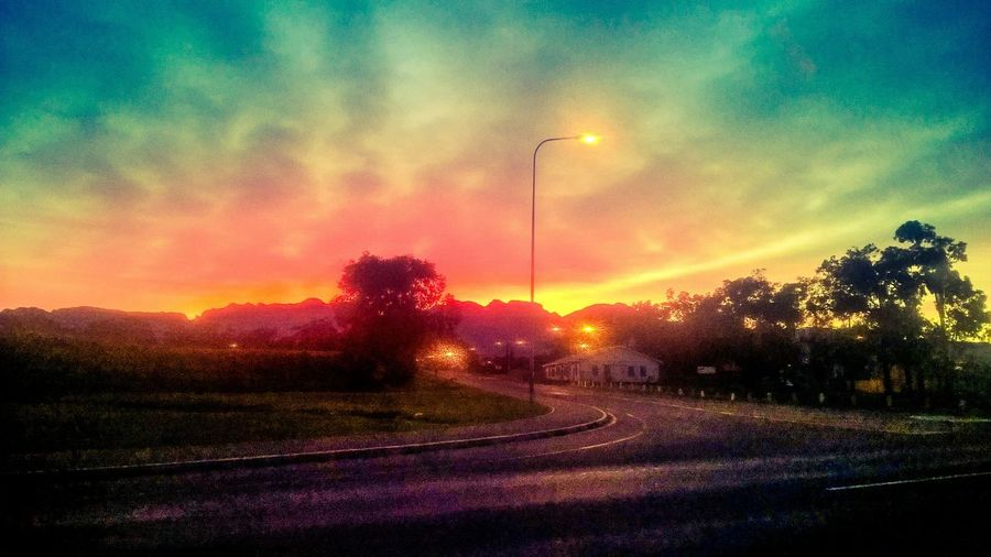 Winter Somerset West Cape Town Morning Sky Artistic