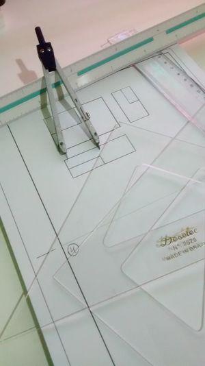 Architecture Desenho Técnico Arquitetura Desenho Linha Material Compasso Esquadros Régua ArquiteturaeUrbanismo Ulbra Canoas No People Graph Indoors  Airplane Close-up Day Chart