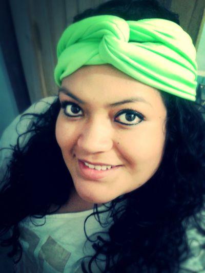Neon Hair Turban