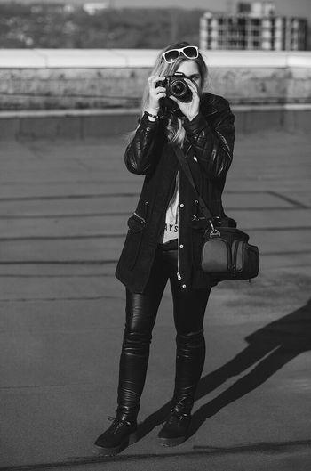 VSCO I Girl Photography Black & White