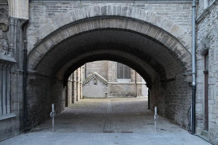 Passageway Passage Cathedral Street Photography Tournai