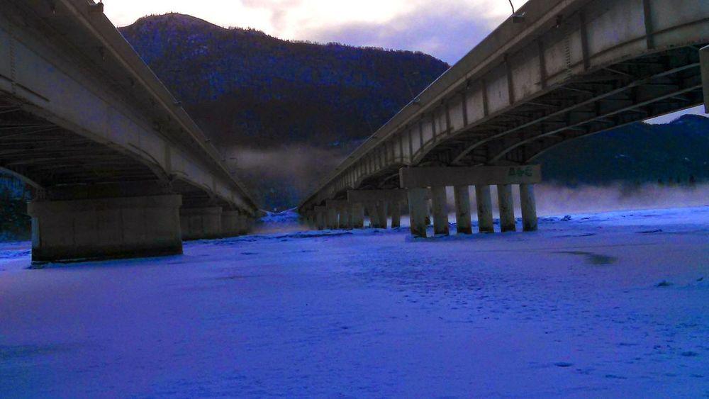 Be. Ready. AnchorageAnchorage KenaiRiver Frozen River Frozen Photography Alaska