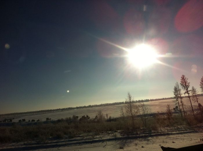 Sunlight Sunshine ☀ Snow Winter Blue Sky Snow Covered Solar Eclipse Cold Temperature Deep Snow Cold