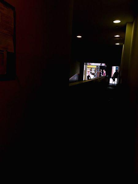 Indoors  Lifestyles Illuminated Night Architecture One Person People