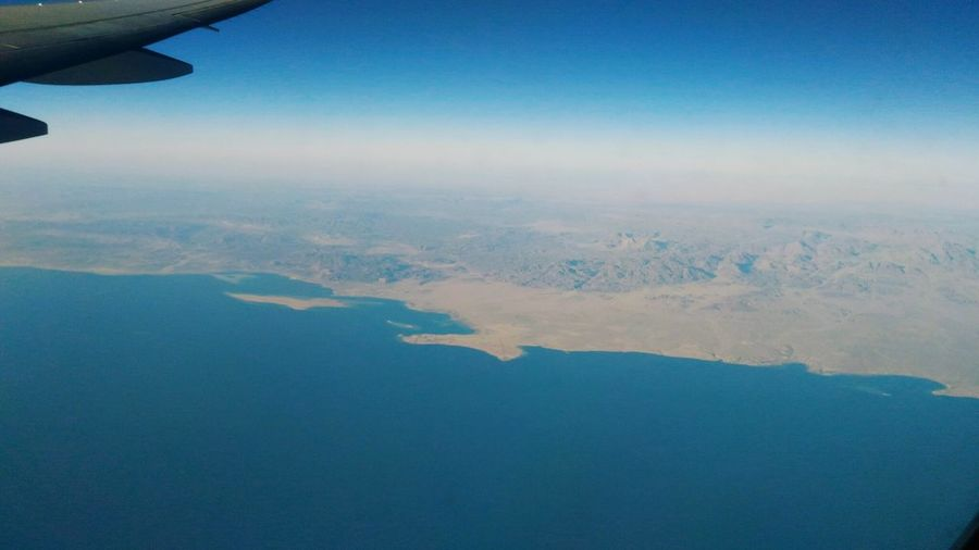 Red Sea Aerial View Sky Scenics Water Beauty In Nature Day Nature