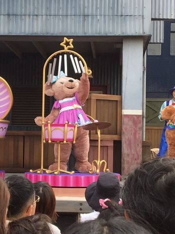 Duffy Cute♡ Playing Music Show DisneySea ShellieMay Makes Me Happy Excited Japan Love ♥ Day Girl Bear