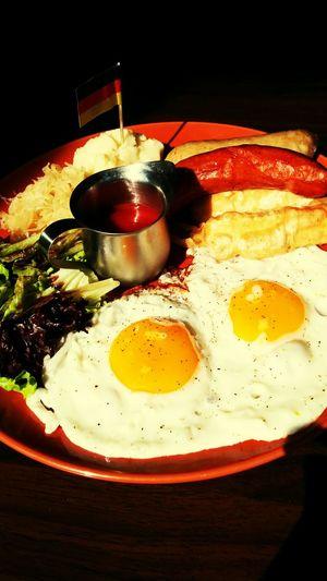 Sausage with Egg