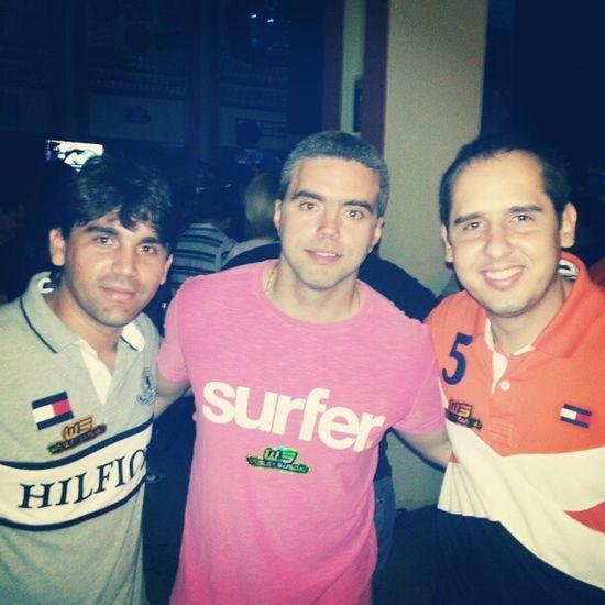 Com @thiagotarta e @mateusudario. Night Party Forro Fiteirodapraia fortaleza ce instapicture instaparty