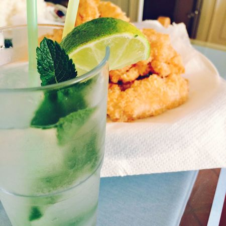 From my home bar ? Mojito Chicken Homemade