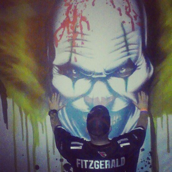 At fear farm,Phoenix,AzFearfarm Clown Billboard