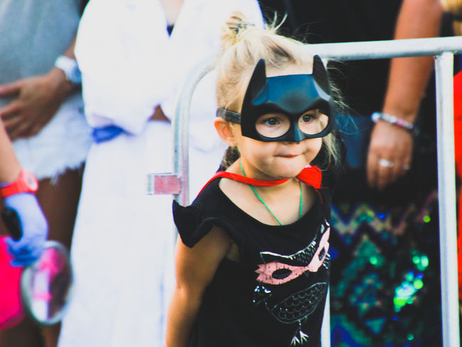Catwoman Child Childhood Close-up Costume Day Family Fancy Dress Girl Girls Leisure Activity Lifestyles One Girl Only People Portrait Real People Standing Superhero Superheroes The Portraitist - 2017 EyeEm Awards