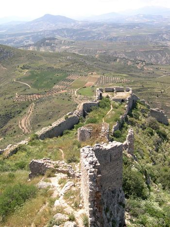 Landscape Corinth Greece 2004
