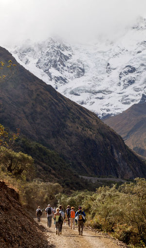 Salkantay Trail in Peru. Ancient Inca Nature Peru Peru Traveling Travel Cuzco Mountains Mountains And Sky Moutains Peruvian South America Travel Destinations