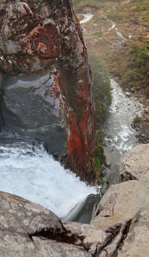 River Volcanic Landscape Water Sand Rushing Rock Formation Rocky Mountains Geology Rock Flowing Water