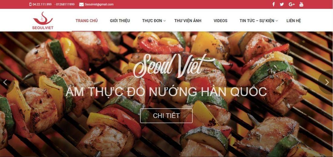 Thiết kế website nhà hàng chuyên nghiệp là phương thức marketing hữu hiệu giúp nhà hàng phổ biến thương hiệu và thu hút thực khách đến với nhà hàng. #thiếtkếwebsitenhàhàng