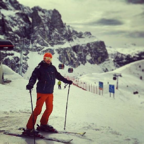 Almost the Coolest  Skier in Valdifassa Dolomiti Dolomites Superski Mountain Kjus Salomon