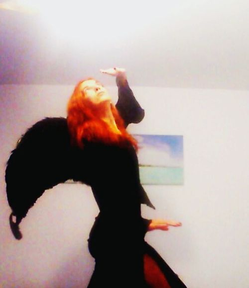 Me Redhair Black Angel Castiela Samantha  Light