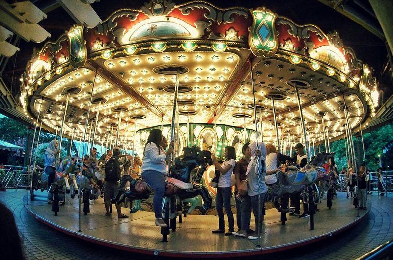 Streetphotography Carousel INDONESIA Happy Fairground EyeEm Indonesia Jakarta Dufan
