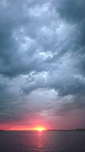 Clouds Sky Sea Sevastopol' Evening