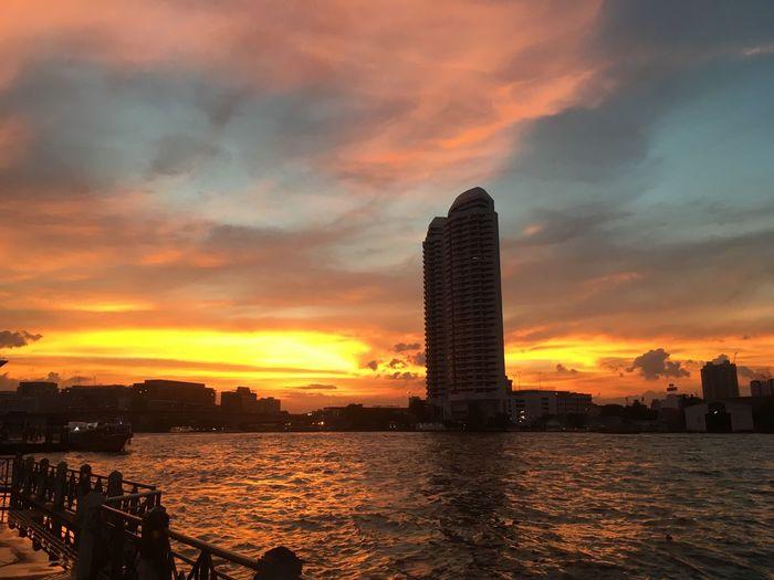 Bangkok BKK Thailand Chao Phaya River Pra Atit, Bangkok