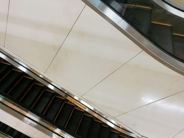 Architecture Elevator High Angle View Indoors