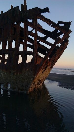Peter Iredale Shipwreck Peteriredale Pacific Northwest  Oregon Coast Shipwreck