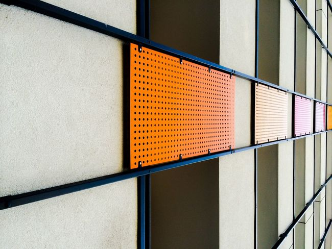 Urban Geometry Follow the color! Orange By Motorola