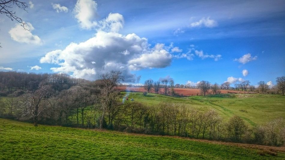 Landscapes HDR Beauty In Nature Countryside EeYem Best Shots Beautiful Nature EeyemBestEdits Nature Trees Hdrphotography Hdr_gallery Countryside Uk Fields