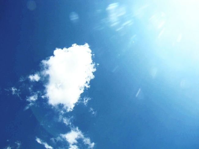 Blue Sky Nature White Color Cloud - Sky No People Scenics Beauty In Nature Cirrus Outdoors Water Day Freshness Heaven Blue Sky Tranquility Sunday Burnoutart Eyeem Market Magnumphotos Eyeemphotography EyeEm Gallery Nostalgic  Memories Fragility