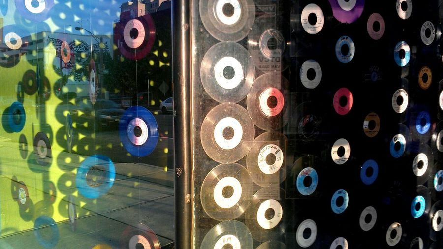 Photograph Columbus Columbus Streets Urban Landscapes Vinyl Records Columbus Ohio record store, a dying breed...