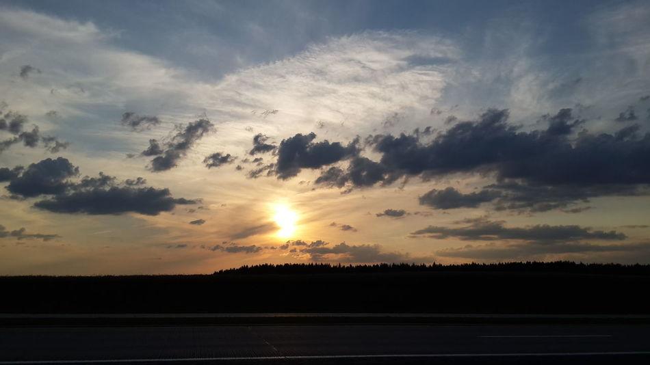 No Edit/no Filter Nice! Summer Sunset