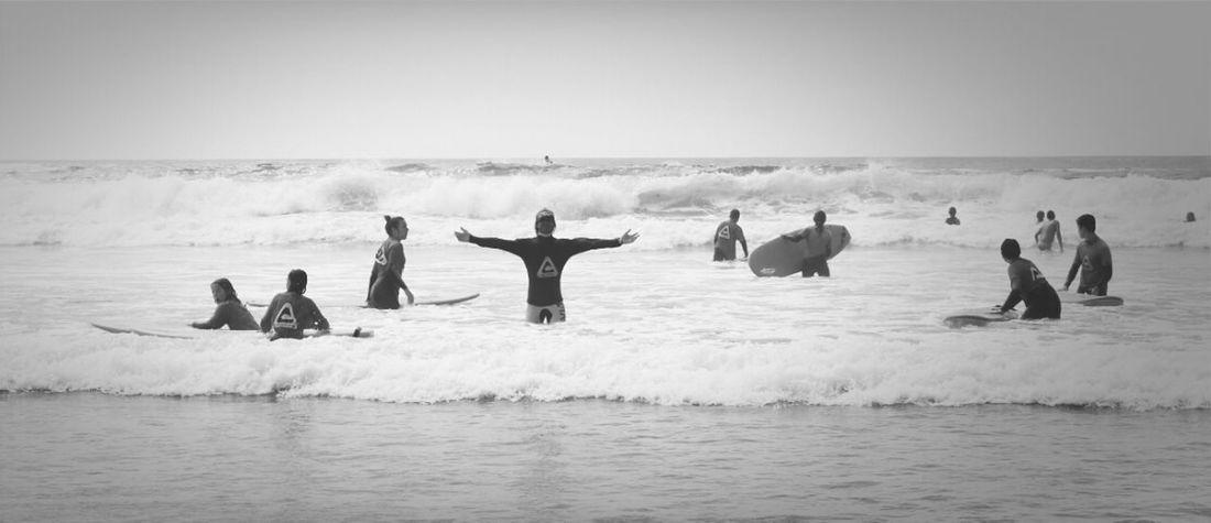 Beach Blackandwhite Surfing Beachphotography