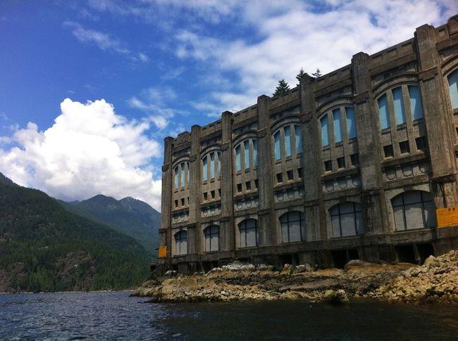 the old power statiom Boating Buntzen Power House