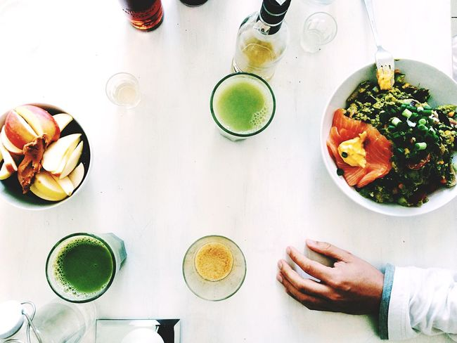 Hangover Breakfast amongst the Vodka🍹 Bottles Collection