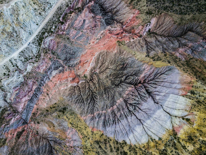 Aerial Aerial View Close-up Day Drone  Fossil Geology Mountain Nature No People Outdoors Rock - Object The Great Outdoors - 2017 EyeEm Awards Visual Creativity