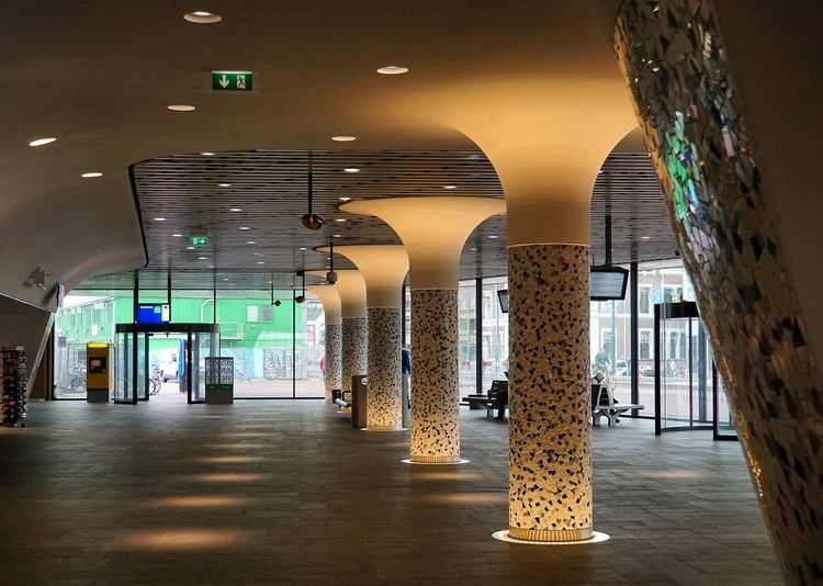 The path is paved ... Absence Architectural Column Architecture Building Built Structure Colonnade Column Design Emptiness Engineering Expectation Illuminated In A Row Indoors  Leading LED Lighting Equipment Narrow Pattern Paved Path Pillar Promise The Way Forward Transition World Is Waiting