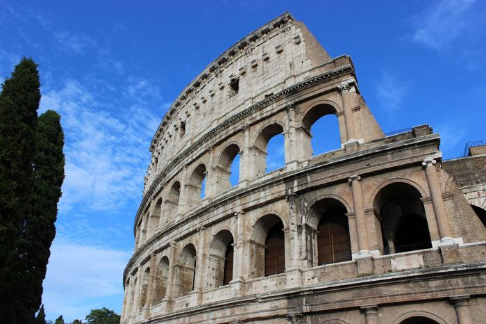 Last years euro trip, Roman Colosseum. RomanColosseum Italia Rome Roma Italy Colosseo Gladiator First Eyeem Photo