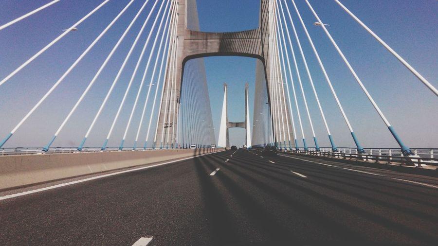 Lisboa Bridge Ponte Ponte Vasco Da Gama River Rio Tejo River Collection